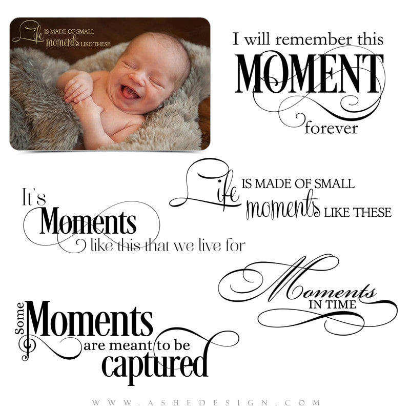 Precious Moments Word Art full set web display
