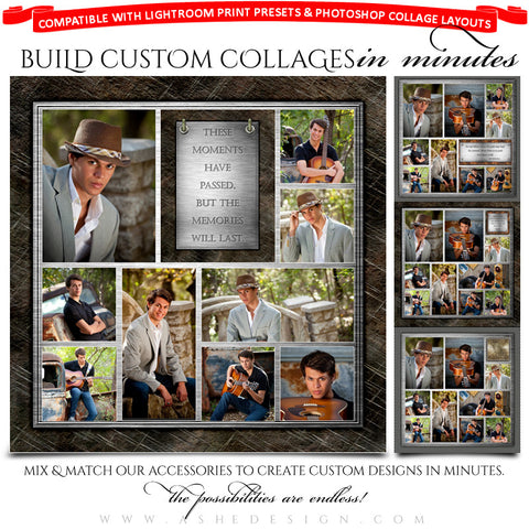 Collage Accessory Kit | Scrap Metal examples web display