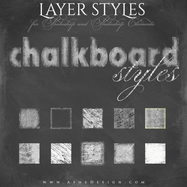 Chalkboard Styles Designer Gems full set web display