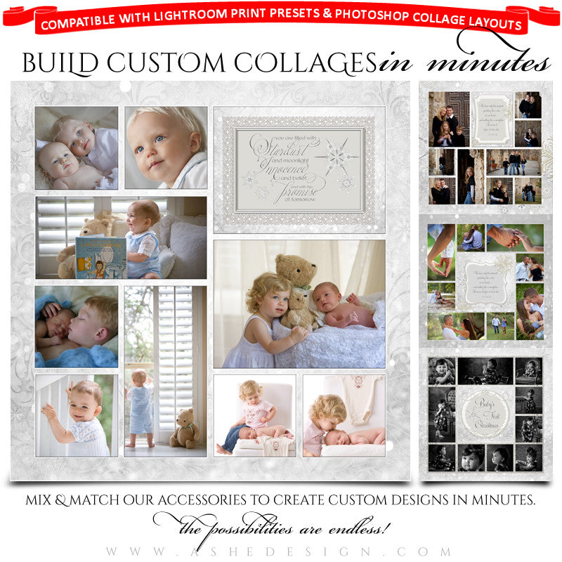 Snow Babies Collage Accessory Kit full set web display