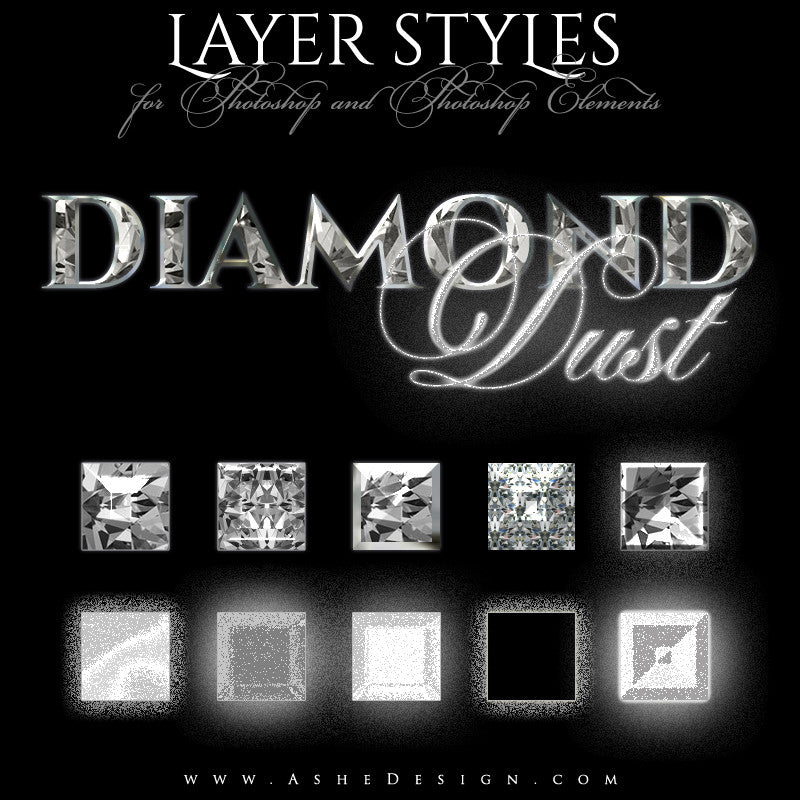 Diamond Dust Styles Designer Gems Full set web display