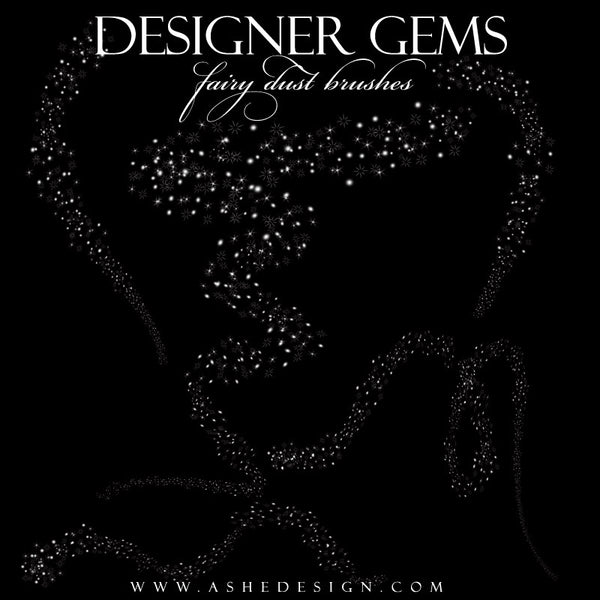 Ashe Design | Photoshop Brushes |  Fairy Dust full set