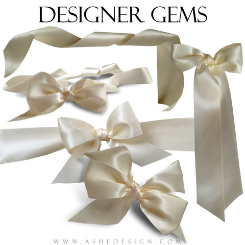 Designer Gems Champagne Ribbons Full Dispay