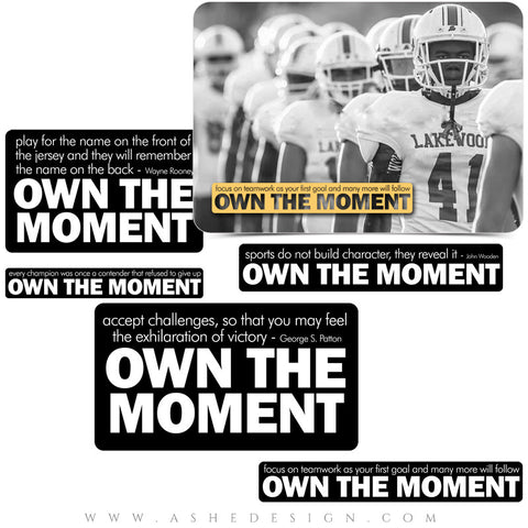 Own The Moment - Word Art Collection Full Set