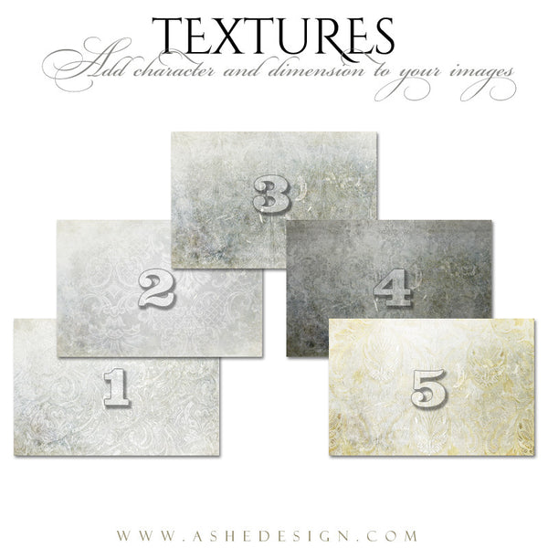 Ashe Design | Textiles Texture Overlays full set