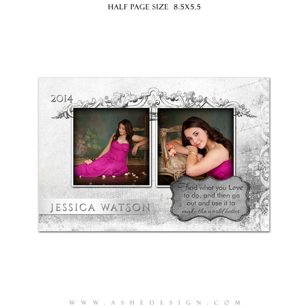 Softly Spoken - Yearbook Templates for Photographers