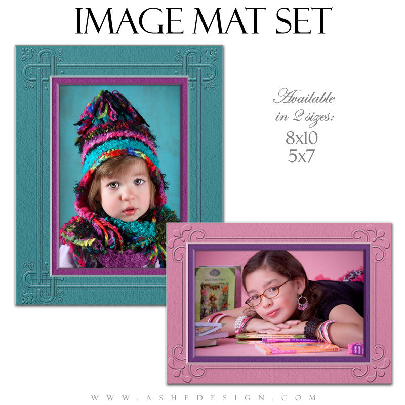 Image Mat Templates | Framed