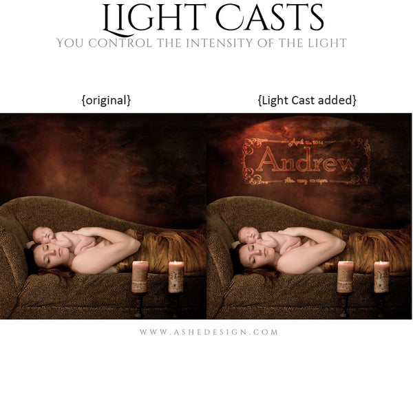 Digital Props for Photographers | Light Casts Babies example1