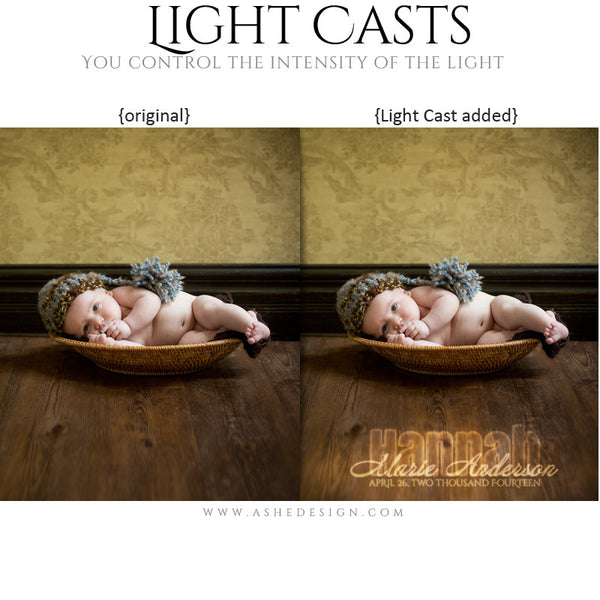 Digital Props for Photographers | Light Casts Babies example2