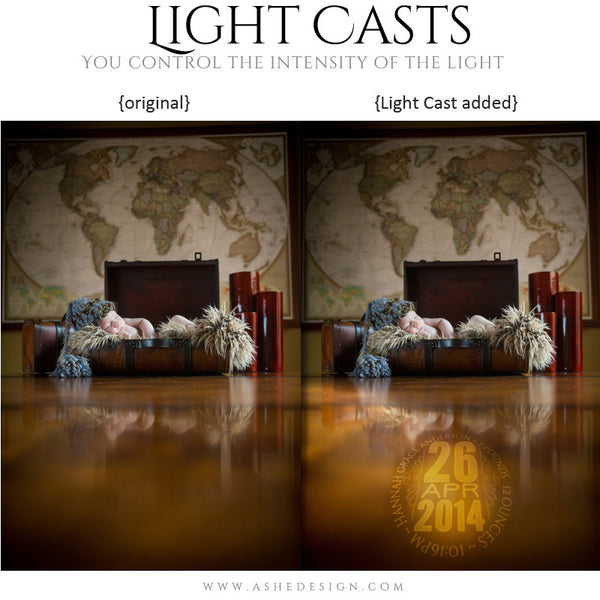 Digital Props for Photographers | Light Casts Babies example3