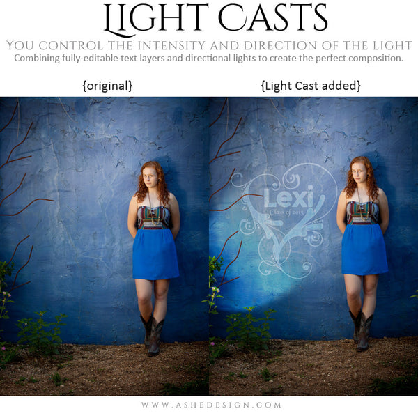 Digital Props Light Casts | Seniors 2015 example 2