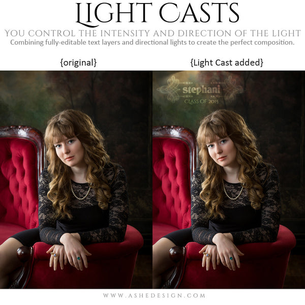 Digital Props Light Casts | Seniors 2015 example 3