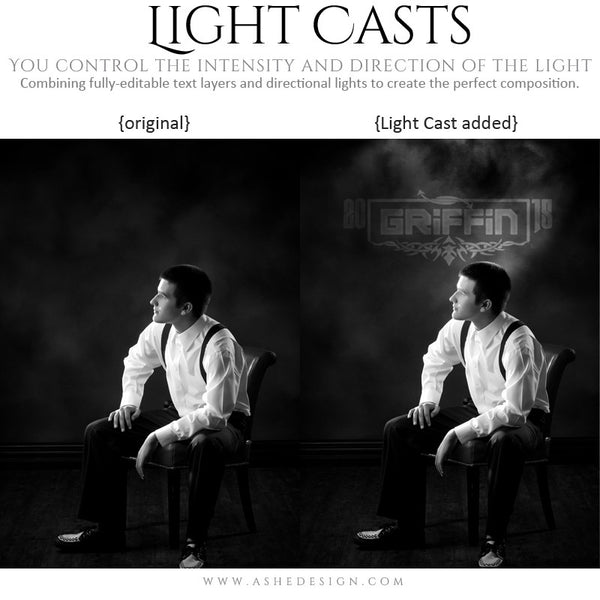 Digital Props Light Casts | Seniors 2015 example 4