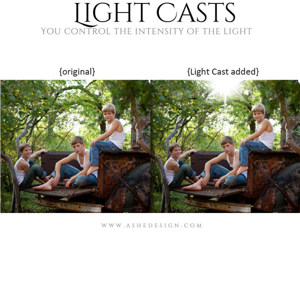 Digital Props - Light Casts - Sun Flares example2 web display