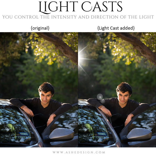Digital Props - Light Casts - Sun Flares example3 web display