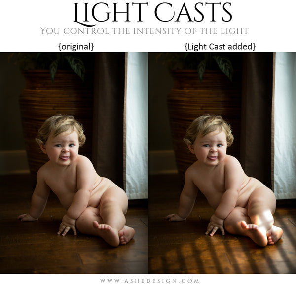 Digital Props Light Casts | Blinds example 1