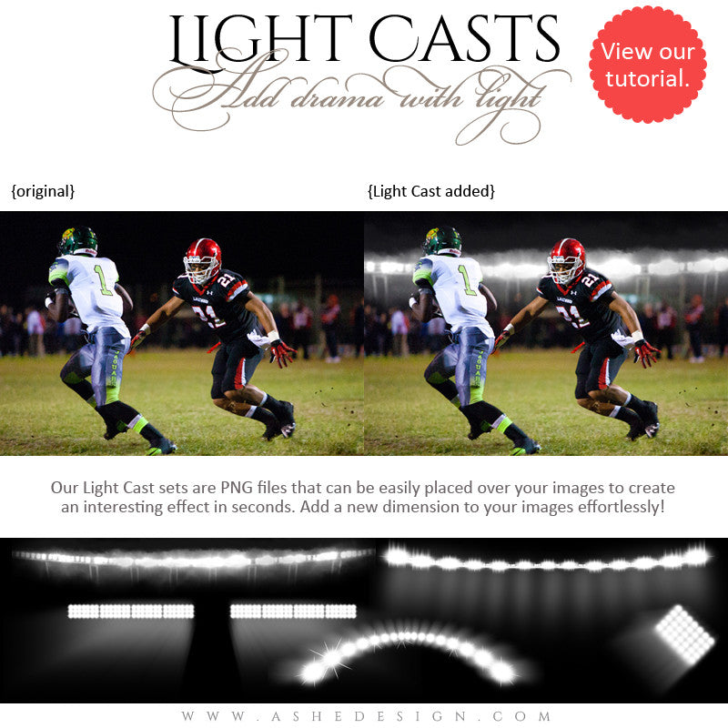 Digital Props for Photographers | Light Casts Sports Stadium2