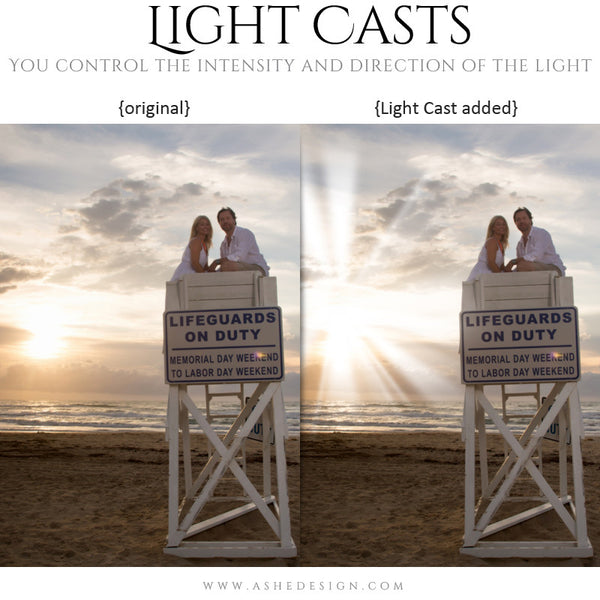 Digital Props for Photographers | Light Casts Heavenly1
