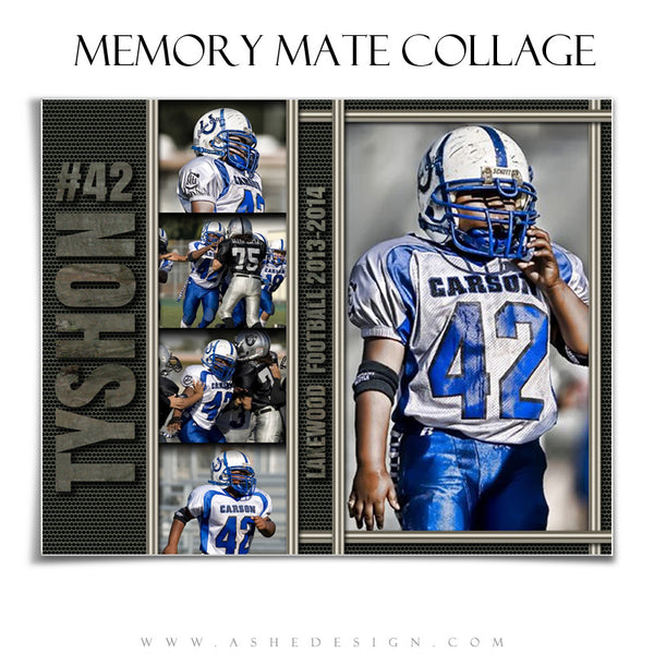 Ashe Design | Iron Works Sports Memory Mates 8x10 HZ