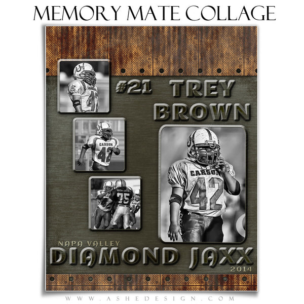 Urban Blade - Sports Memory Mate Templates for Photographers