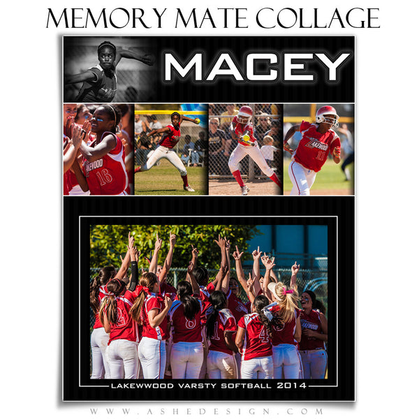 Photography Templates - Sports Memory Mates