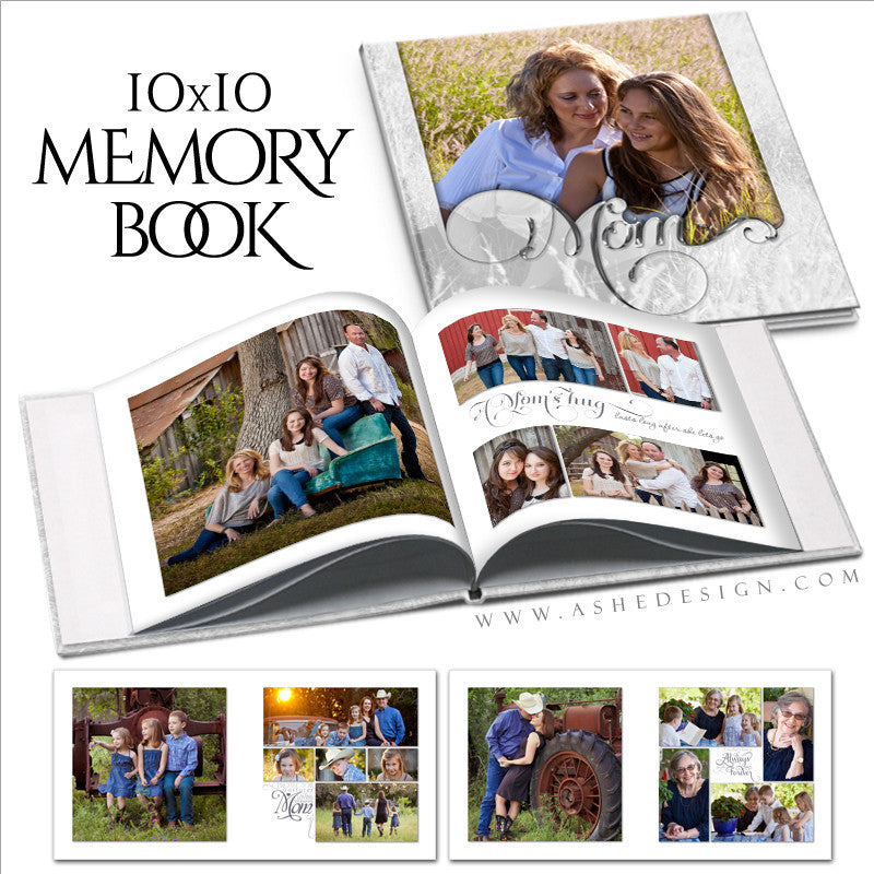 Simply Worded Mom - 10x10 P BK Open Book web display