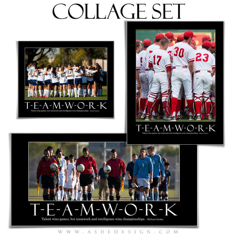 Motivational Collage Set | Teamwork