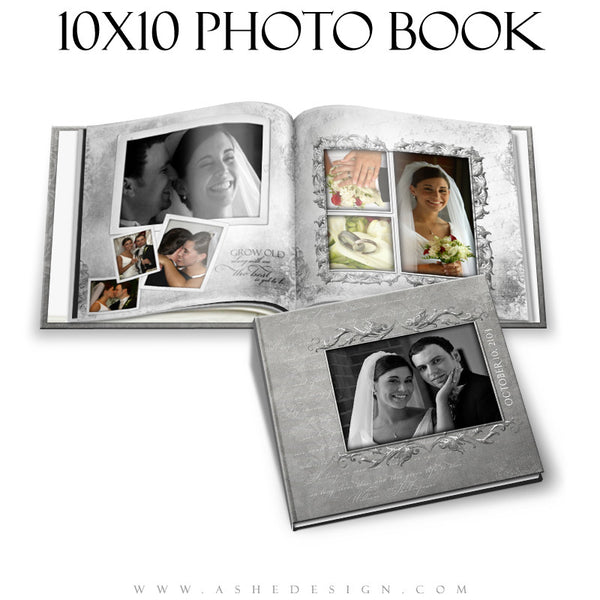 Wedding Photo Book 10x10 - Softly Spoken