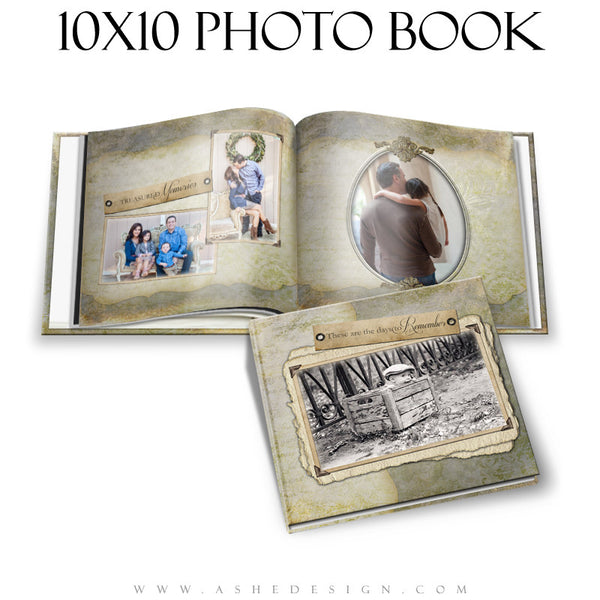 Days To Remember 10x10 P BK open book web display