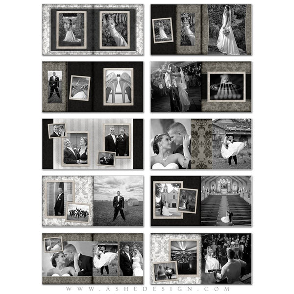 Photo Book Templates 12x12 | Timeless pages
