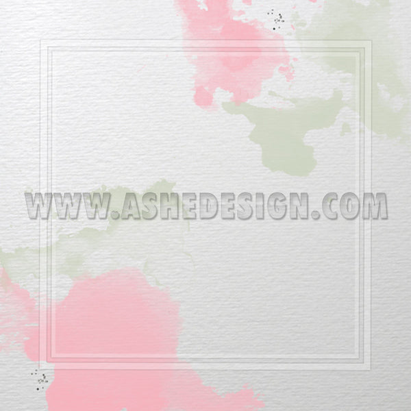 Watercolors Digital Designer Paper Set paper  2