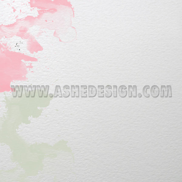 Watercolors Digital Designer Paper Set paper 4