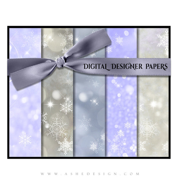 Digital Papers | Winter Wonderland