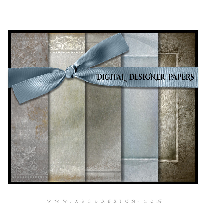 Digital Paper Set | Framed Impression