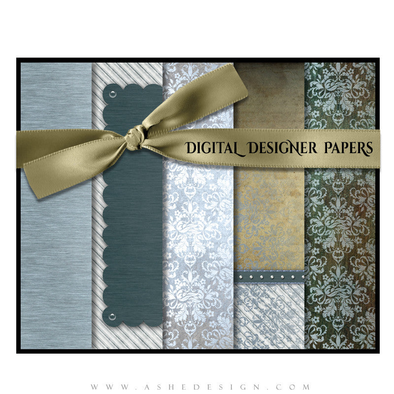 Ashe Design | Digital Designer Papers | Griffin