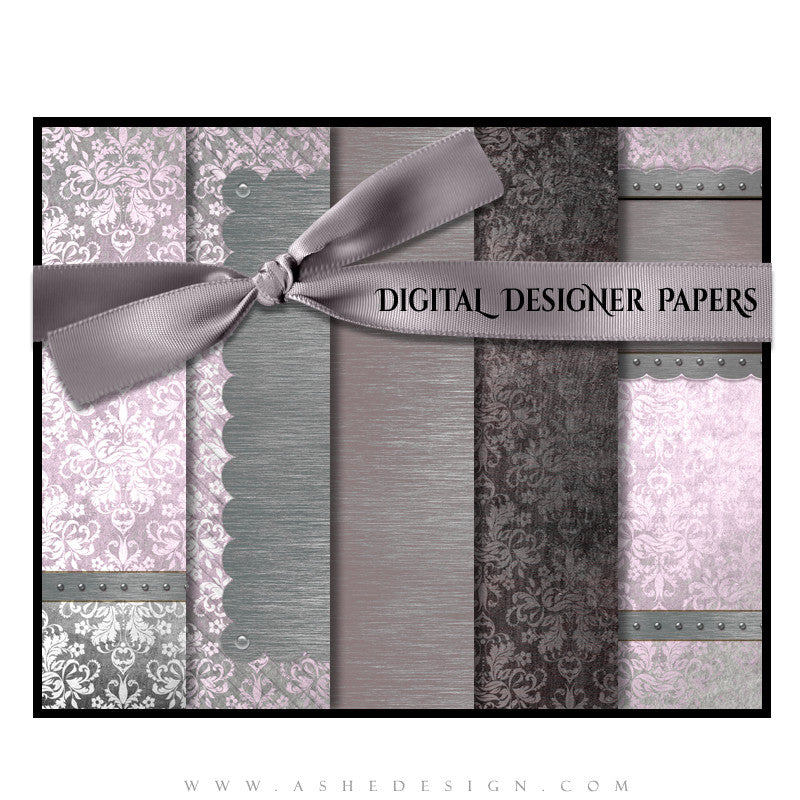 Ashe Design | Digital Designer Papers | Christina