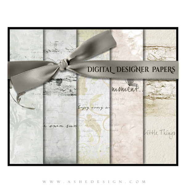 Digital Designer Paper Set | Subtle Focus