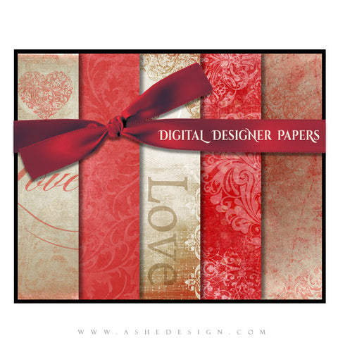 Amour - Digital Papers full set web display
