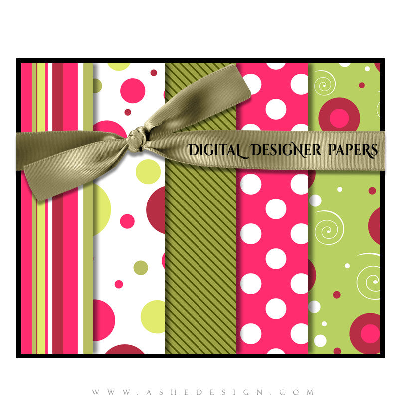 Be Jolly papers full set web display