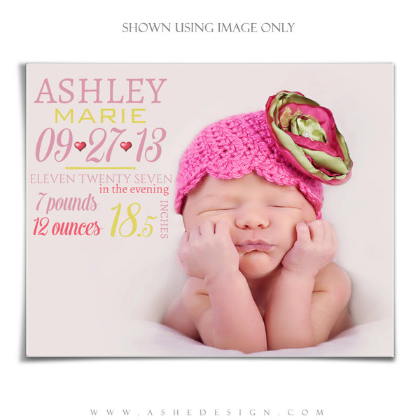 Amped Up Newborn Word Art | On Baby photo1