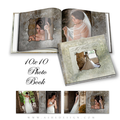 Ashe Design | Framed | 10x10 Photo Book open book