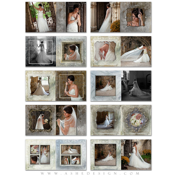Ashe Design | Framed | 10x10 Photo Book pages