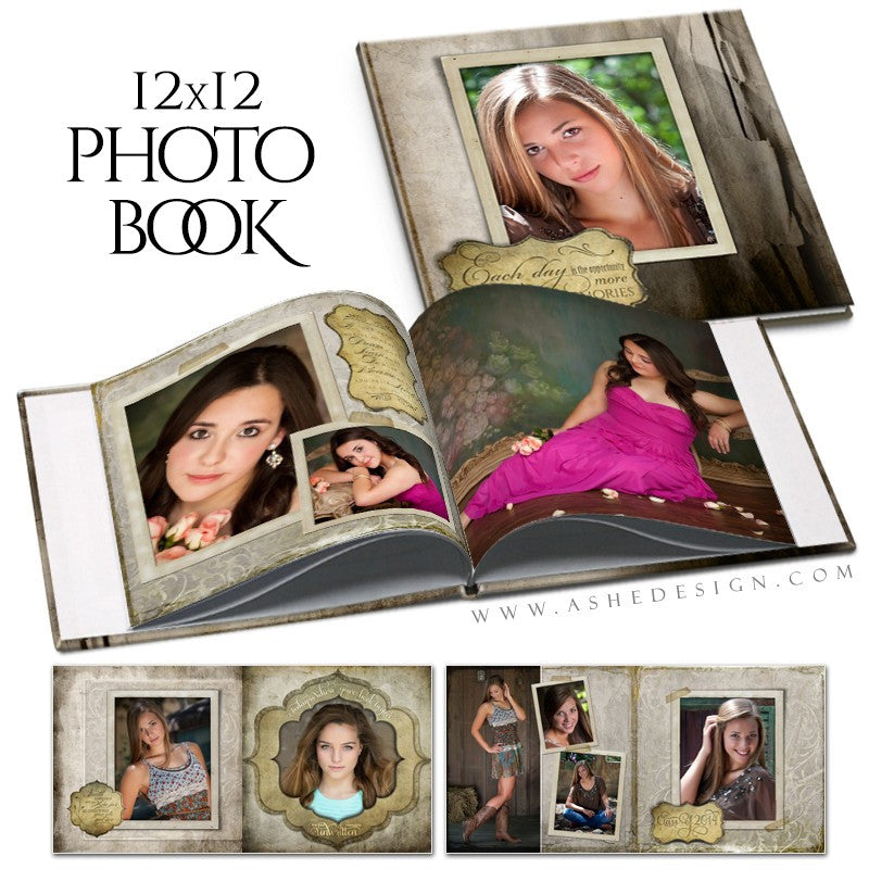 Photo Book 12x12 | Unwritten open book