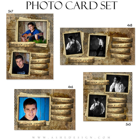 Hunter James Photo Cards full web display