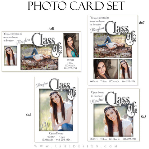 Photo Card Set | Simply Worded Grad