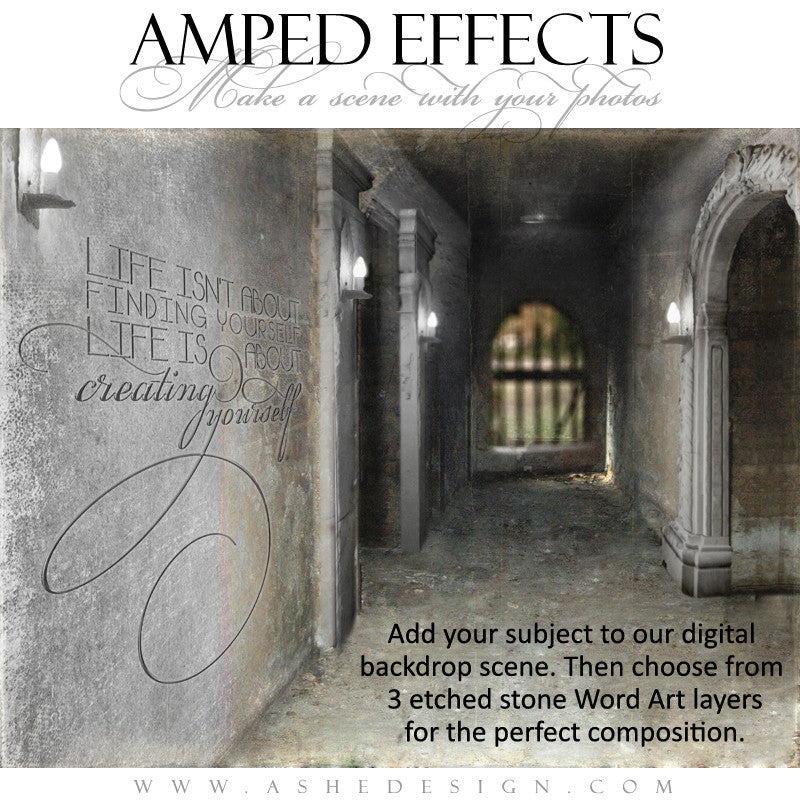 Ashe Design | Amped Effects Templates | Put It In Perspective web display