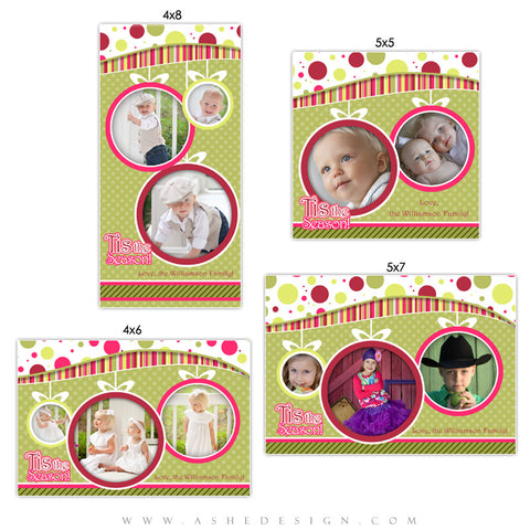 Christmas Photo Card Templates | Be Jolly