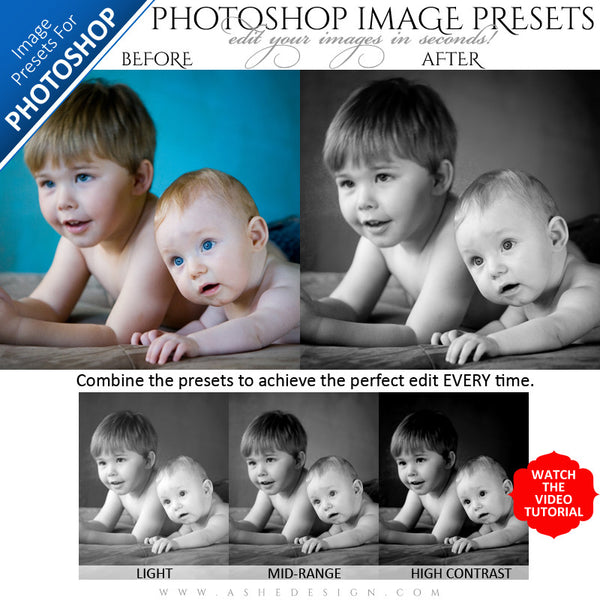 Photoshop Image Presets - Perfect Black&White example3web display