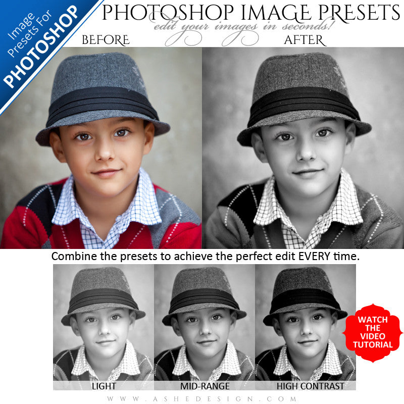 Photoshop Image Presets - Perfect Black&White example1 web display