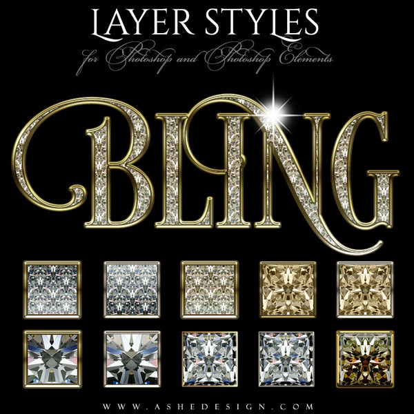 Photoshop Styles | Bling